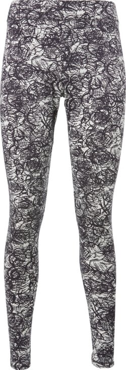 BCG Women's Lifestyle GFX Jersey Printed Leggings