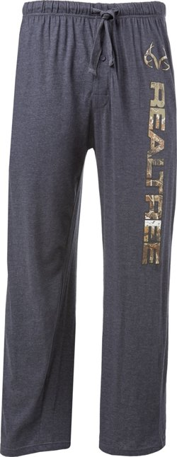 Realtree Men's Real Active Cotton Jersey Lounge Pants