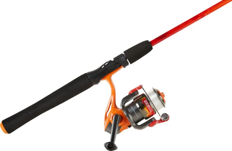 Zebco Splash Orange 6 ft ML Freshwater Spinning Rod and Reel Combo – Fishing Combos, Spinning Combos at Academy Sports