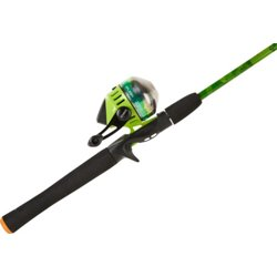 Splash Green 6 ft M Freshwater Spincast Rod and Reel Combo