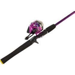 Splash Purple 6 ft M Freshwater Spincast Rod and Reel Combo