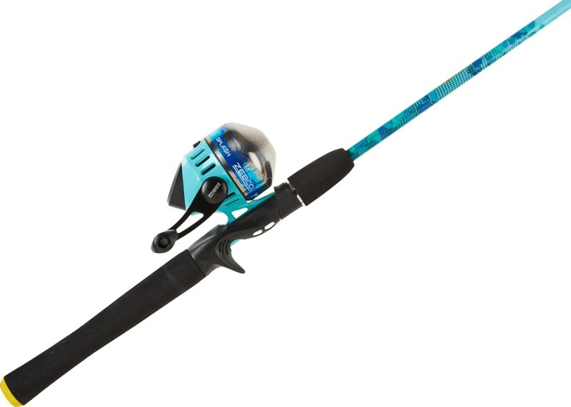 Zebco Splash Blue 6 ft M Freshwater Spincast Rod and Reel Combo – Fishing Combos, Spincast Combos at Academy Sports