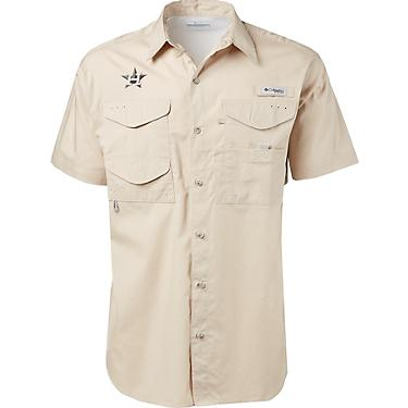 finest selection ca362 5d4c5 Columbia Sportswear Men's Houston Astros PFG Bonehead Fishing Shirt