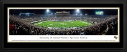 Blakeway Panoramas University of Central Florida Spectrum Stadium Double Mat Deluxe Framed Panoramic