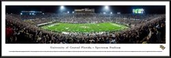 Blakeway Panoramas University of Central Florida Spectrum Stadium Standard Frame Panoramic Print