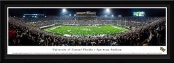 Blakeway Panoramas University of Central Florida Spectrum Stadium Single Mat Select Framed Panoramic