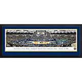 Blakeway Panoramas University of Notre Dame Joyce Center Double Mat Deluxe Framed Panoramic Print