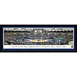 Blakeway Panoramas University of Notre Dame Joyce Center Single Mat Select Framed Panoramic Print