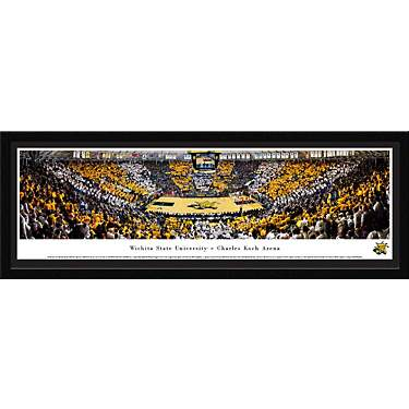 Blakeway Panoramas Wichita State University Charles Koch Arena Single Mat Select Framed Panoramic Pr