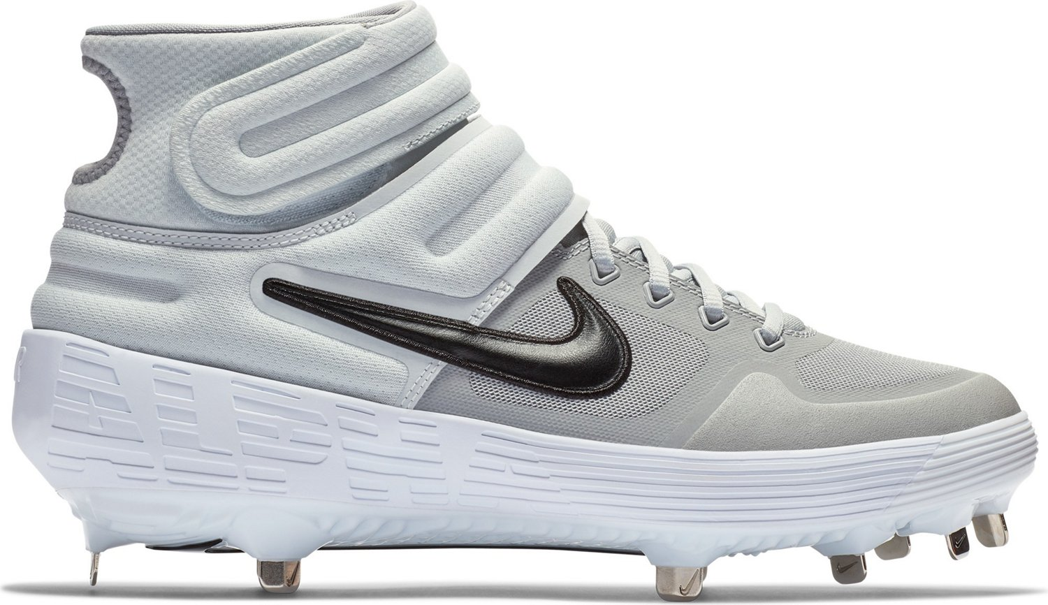 online store 4df77 fb273 Nike Men s Alpha Huarache Elite 2 Mid Baseball Cleats   Academy