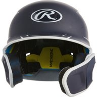 Rawlings Boys' Senior League Mach 2-Tone Batting Helmet with EXT Flap