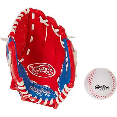 Rawlings Youth Players 9 in T-Ball Infield Glove with Ball