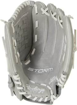 Rawlings Kids' Storm 12 in Fast-Pitch Softball Utility Glove
