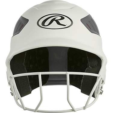 Rawlings Girls' Coolflo Fast-Pitch 2-Tone Matte Batting Helmet