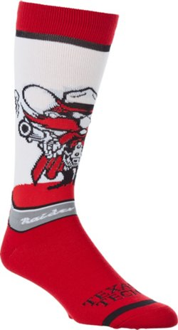 For Bare Feet Texas Tech University Mascot Knee High Socks