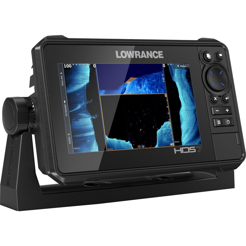 Lowrance HDS LIVE 7 in GPS Fishfinder Black - Mrne Electrncs And Radios at Academy Sports