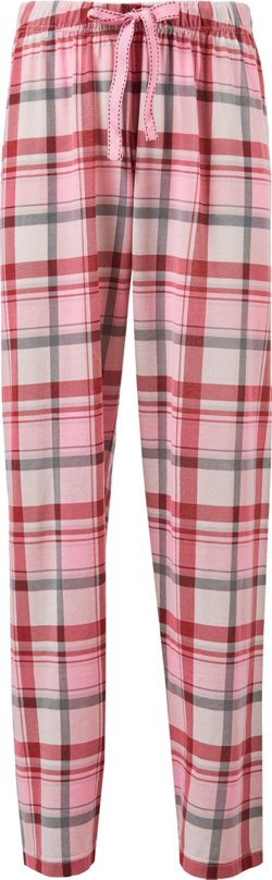 Canyon Trail Women's Plaid Cotton Jersey Lounge Pants