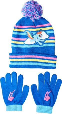Girls' My Little Pony Hat And Glove Set