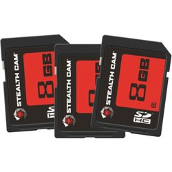 8 GB SD Cards 3-Pack