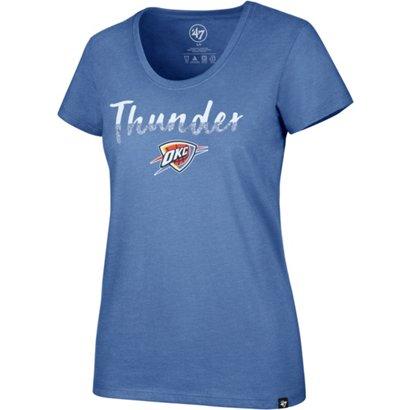 47 Oklahoma City Thunder Women s Sparkle Dip Club T-shirt  d210df7b6