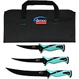 danco sports Pro Series Knives with Rollup Bag