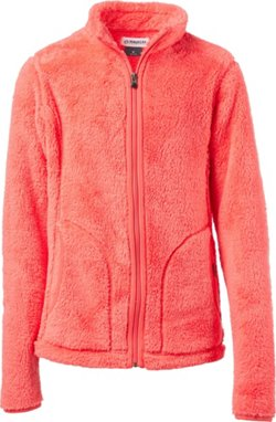 Magellan Outdoors Women's Teddy Bear Fleece Full Zip Jacket