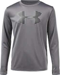 Under Armour Boys' Tech Big Logo Long Sleeve T-shirt