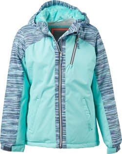 Free Country Girls' Water-Resistant Boarder Jacket