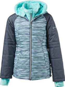 Free Country Girls' Bib Puffer Jacket