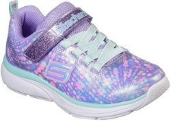 SKECHERS Girls' Wavy Lites Running Shoes