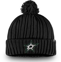 Dallas Stars Men's Core Cuffed Knit Hat with Pom