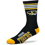 For Bare Feet Adults' University of Missouri 4-Stripe Deuce Socks