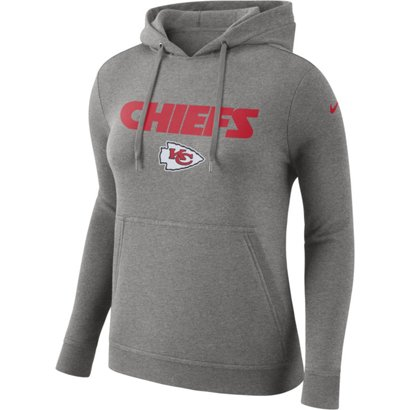 Nike Women s Kansas City Chiefs Club Pullover Hoodie  a2724e500fe6