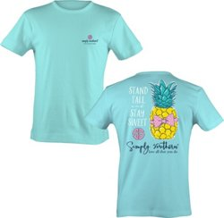 Simply Southern Girls' Pineapple T-shirt