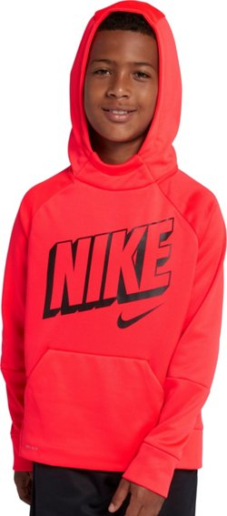 Nike Boys' Therma Graphic Training Pullover Hoodie