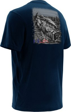 Huk Men's KC Scott Air Bass T-shirt