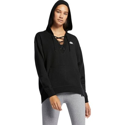 ... Sportswear Lace-Up Hoodie. Women s Hoodies   Sweatshirts. Hover Click  to enlarge f9a57848e