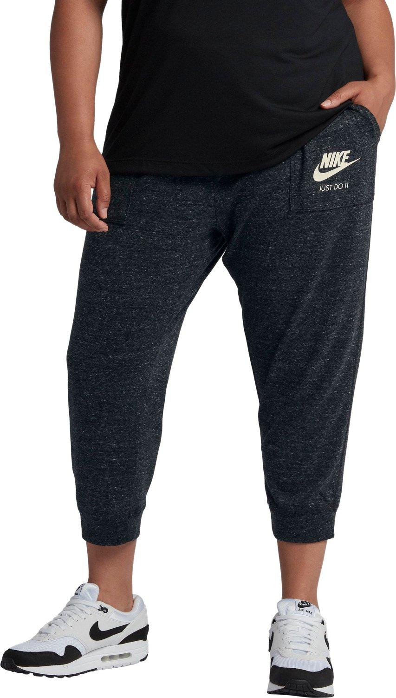 d81736988 Nike Women's Gym Vintage Plus Size Capri Pants   Academy