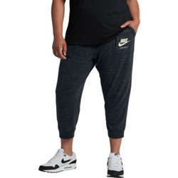 Women's Gym Vintage Plus Size Capri Pants