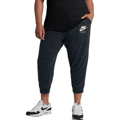108ff295a9 ... Nike Women s Gym Vintage Plus Size Capri Pants. Women s Pants    Leggings. Hover Click to enlarge