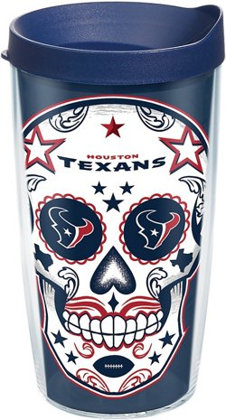 Tervis Houston Texans Dia De Los 16 oz Tumbler