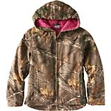 Carhartt Girls' Sherpa Lined Redwood Jacket