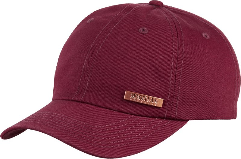 Magellan Outdoors Women's Medallion Logo Ball Cap (Windsor Wine, Size One Size) – Men's Outdoor Apparel, Men's Hunting/Fishing Headwear at Academy Sports