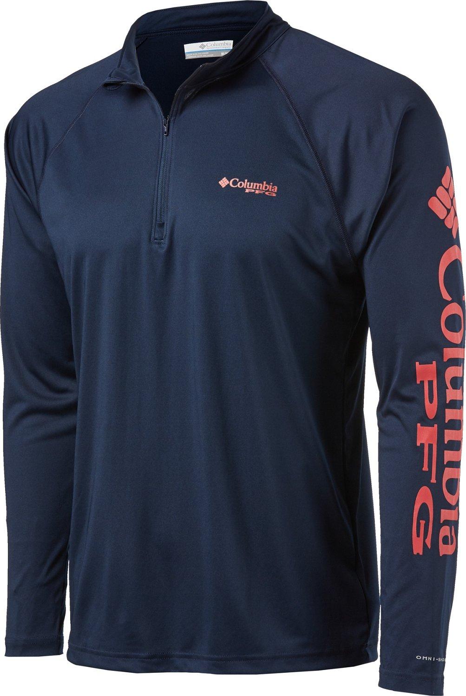 981130ad Columbia Sportswear Men's Terminal Tackle 1/4 Zip Sport Top | Academy