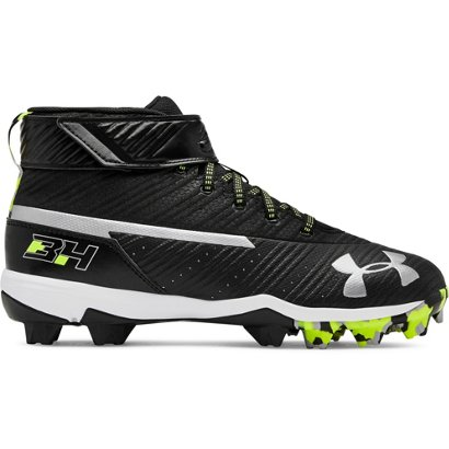 7c6f4dc1b04c ... Under Armour Kids' Harper 3 Mid Baseball Cleats. Boys' Baseball Cleats.  Hover/Click to enlarge