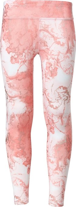 Layer 8 Girls' Allover Print Cold Weather Leggings