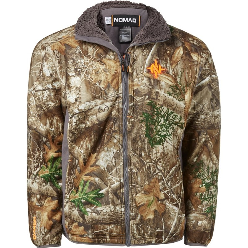 Nomad Men's Harvester Camo Hunting Jacket - Camo Clothing, Adult Insulated Camo at Academy Sports