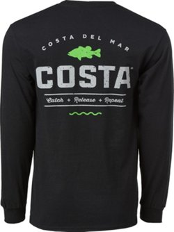 Costa Del Mar Men's Topwater Long Sleeve T-shirt
