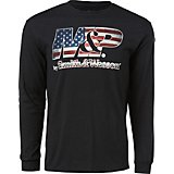 Smith & Wesson Men's M&P Flag Filled Logo Long Sleeve T-shirt