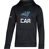 Under Armour Men's Carolina Panthers Combine Armour Fleece Lockup Hoodie